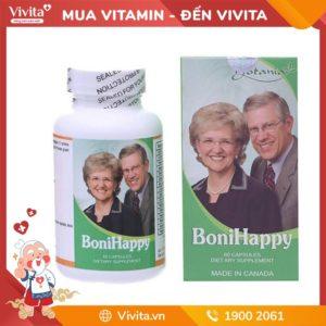 Boni Happy - Hỗ Trợ Điều Trị Chứng Mất Ngủ, Giúp Bạn Có Giấc Ngủ Ngon
