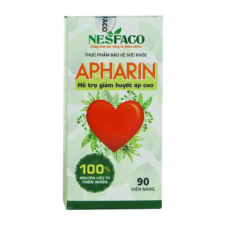 Viên Uống Apharin | Hỗ Trợ Ổn Định Huyết Áp | Hộp 90 Viên