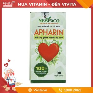 Huyết Áp Apharin - Hỗ trợ ổn định huyết áp từ thảo dược