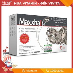 Maxxhair - Hỗ Trợ Mọc Tóc Nhanh, Giúp Tóc Chắc Khỏe, Nuôi Dưỡng Da Đầu