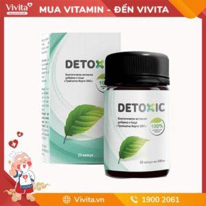Viên Uống Hôi Miệng Detoxic - Đánh Bay Mọi Hôi Miệng Hiệu Quả