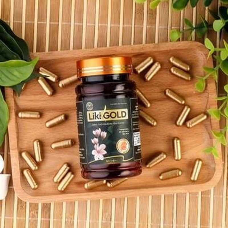 Viên Uống Liki Gold | Hỗ Trợ Điều Trị Viêm Xoang | Hộp 60 Viên