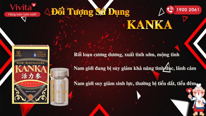 đối tượng sử dụng bổ thận kanka