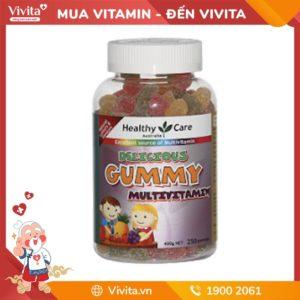 Healthy Care Gummy Multivitamin 250 Gummies - Kẹo Dẻo Vitamin Tổng Hợp Cho Trẻ Phát Triển Toàn Diện
