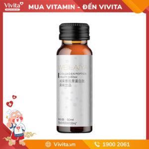 Collagen kháng đường Weilaiya Collagen Peptide Fruity Drink - Bí Quyết Dưỡng Da Của Mỹ Nhân