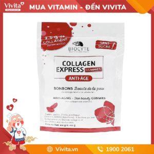 Kẹo Biocyte Collagen Express không đường - Bí quyết chống lão hóa da hiệu quả.
