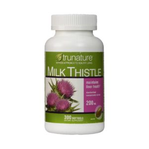 viên bổ gan trunature milk thistle 200mg