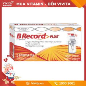 B Record Plus - Nước Uống Cung Cấp Năng Lượng Dồi Dào Đến Từ Ý