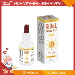 KiDal - Tăng khả năng hấp thụ Canxi giúp xương phát triển toàn diện ở trẻ em
