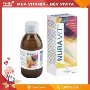 Nuravit - Nước bổ giúp đẩy lùi chứng biến ăn ở trẻ em