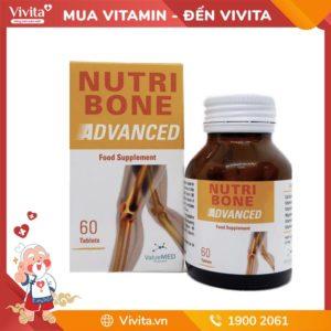 Nutri Bone Advanced - Viên uống hỗ trợ hệ xương khớp khỏe mạnh