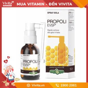 Spray Gola Propoli.evsp - Hỗ Trợ Giảm Nhanh Triệu Chứng Vùng Tai Mũi Họng