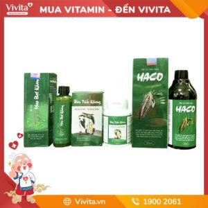 Bộ 3 sản phẩm tóc Haco (Uống + Xịt + Gội) - Liệu trình chuyên biệt cho người hói đầu, bạc tóc
