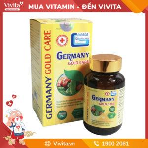 Germany Gold Care - Hỗ trợ ổn định đường huyết, hạ huyết áp, giảm mỡ máu