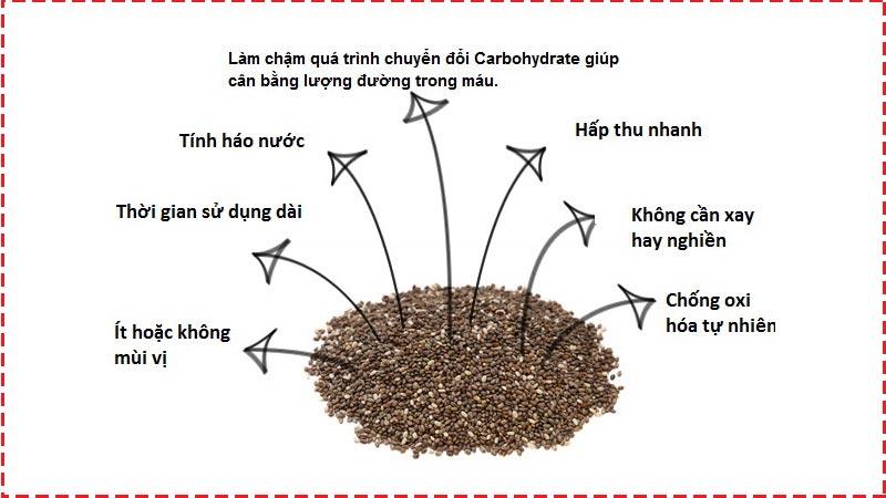 cách sử dụng hạt chia giảm cân