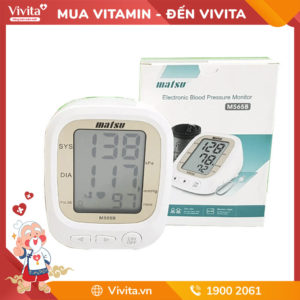 Máy đo huyết áp Matsu - Thiết bị y tế nhập chính hãng từ Nhật