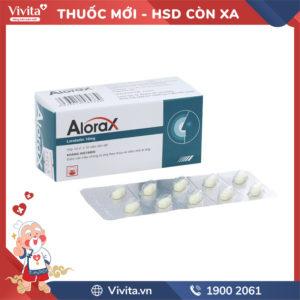 Thuốc chống dị ứng Alorax 10mg Hộp 100 viên