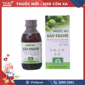 Siro ho Bảo Thanh Chai 125ml