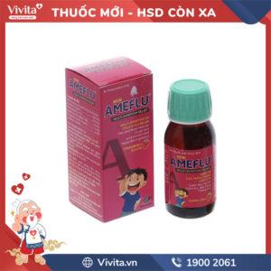 Siro trị cảm cúm cho trẻ em Ameflu hương dâu Chai 60ml