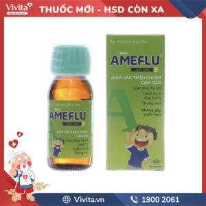 Siro trị cảm cúm cho trẻ em Ameflu Day Time Chai 60ml