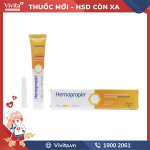 Kem bôi hỗ trợ trị trĩ Hemopropin Tuýp 20g