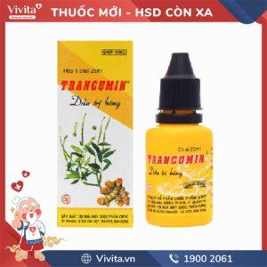 Dầu trị bỏng Trancumin Chai 25ml