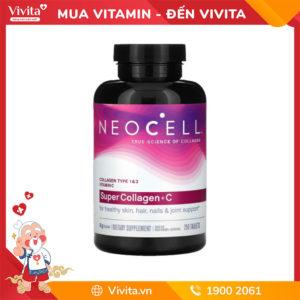 Super Collagen Neocell +C và Biotin