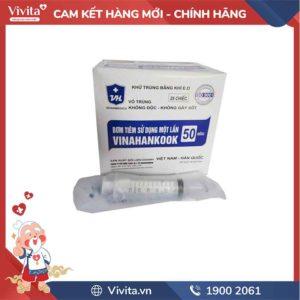 Bơm tiêm Vinahankook 50ml/cc ( ống ăn)