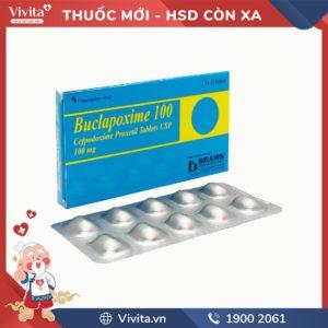 Thuốc kháng sinh trị nhiễm khuẩn Buclapoxime 100mg
