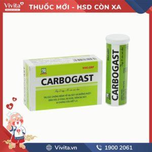 Thuốc trị đầy hơi, ợ chua Carbogast