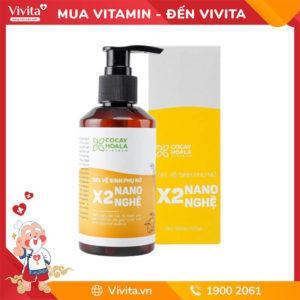 dung dịch vệ sinh phụ nữ gel x2