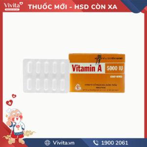 Thuốc bổ sung Vitamin A 5000IU