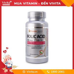 viên bổ thai folic acid