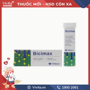 Viên sủi bổ sung vitamin và khoáng chất Bicimax