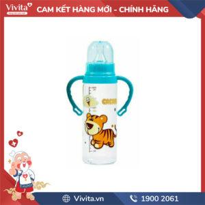 Bình Sữa Có Tay Cầm Cacara (C/140ml) ,(C/250)